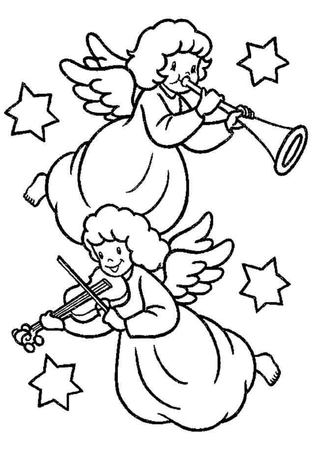 Šablony – andílci