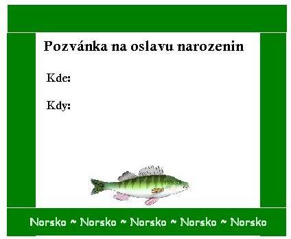 Pozvánka na oslavu narozenin - šablony - hd wallpapers