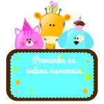 narozeninová pozvánka pro děti
