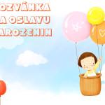 narozeninová pozvánka děti