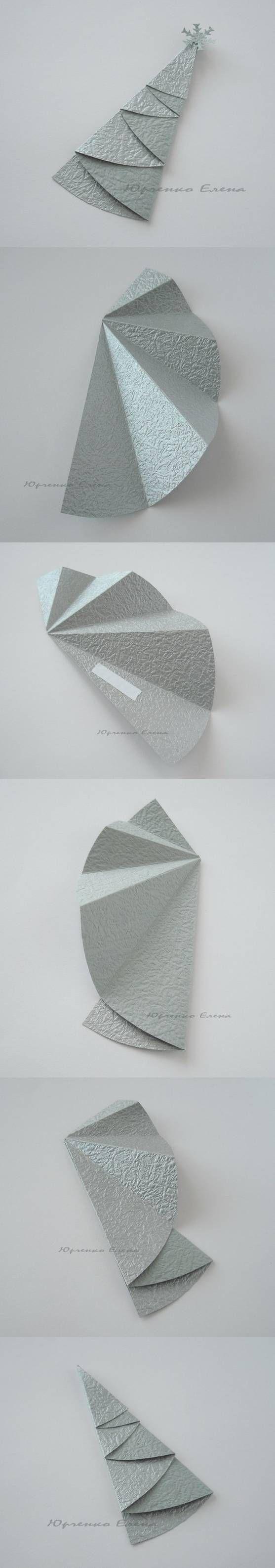 vanocni dekorace z papiru