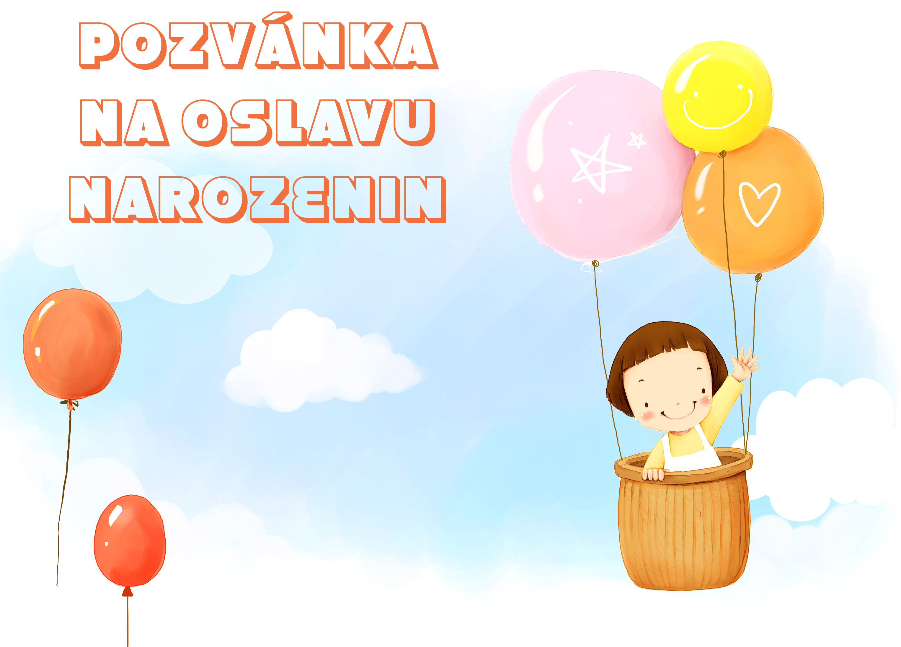 dětské pozvánky k narozeninám Pozvánky na oslavu narozenin pro děti   Domácí nápady dětské pozvánky k narozeninám